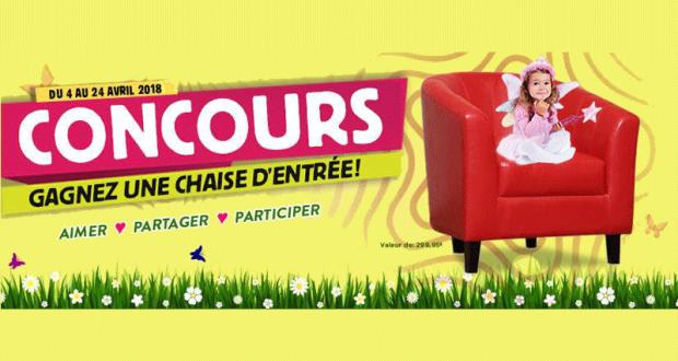 Concours gagnez une chaise d 39 entr e for Domon bijouterie