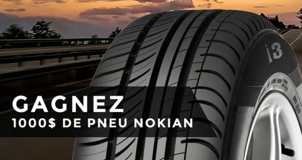 Gagnez un ch que cadeau nokian tyres de 1000 for Achat de maison quebec