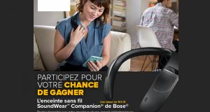 Enceinte sans fil SoundWear Companion de Bose