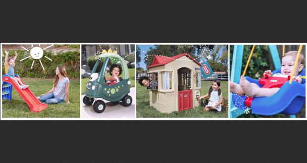 Jouets d ext rieur little tikes essentials valeur de 4000 for Maison jouet exterieur