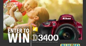 Nikon D3400 Camera (499$)