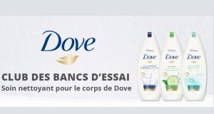 Testez gratuitement l'un des 5 soins Dove
