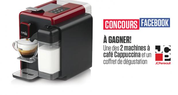 Gagnez une machine caf cappucina de caffitaly for Au jardin de fanny montreal