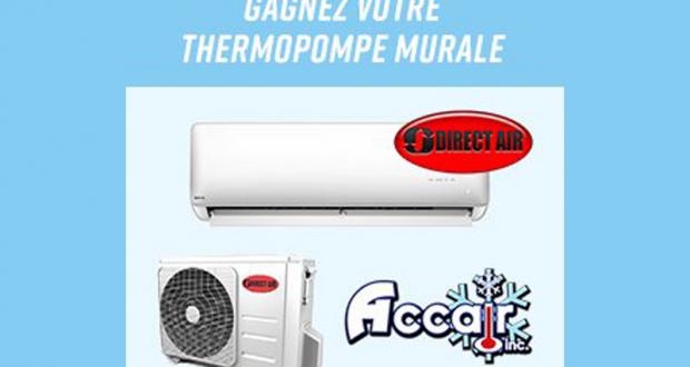Thermopompe murale 12 000BTU