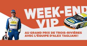 Week-end VIP au Grand Prix de Trois-Rivières