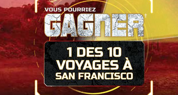 10 Voyages pour deux à San Francisco