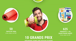10 forfaits de remise en forme (1000$ chacun)
