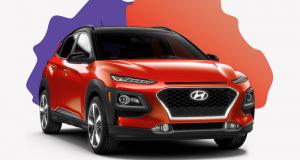 Gagnez une Location de 2 ans Voiture Hyundai Kona 1,6T Trend 2018