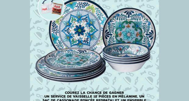 Un service de vaisselle Talavera em mélamine Certified International