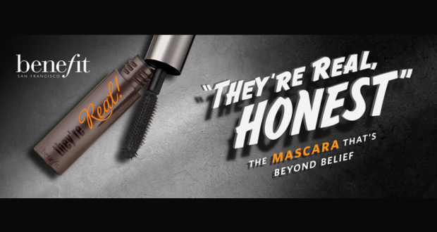 Échantillons gratuits de mascara They're Real