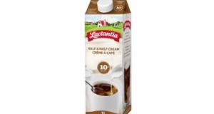 Crème à café 10% Lactantia de 2L à 1,88$