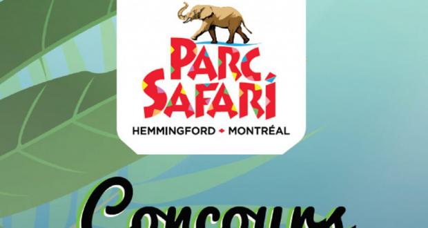 Gagnez un séjour pour 4 personnes au Parc Safari