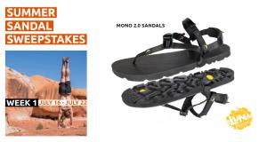 Paire de sandales Mono 2.0 de LUNA