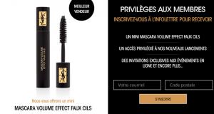 Recevez un mini Mascara Volume Effect Faux Cils