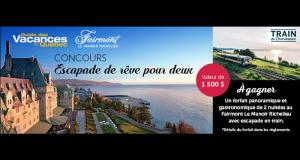 Séjour pour 2 au Fairmont Le Manoir Richelieu