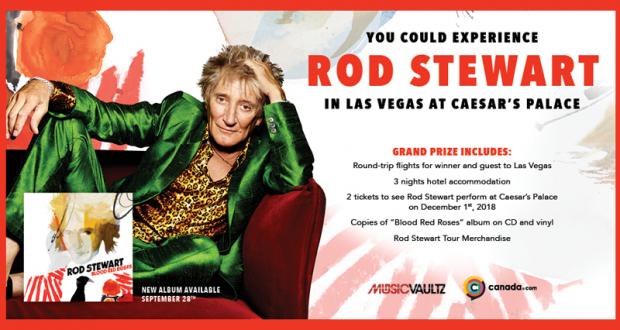 Gagnez un Voyage pour deux à Las Vegas (Valeur de 4000$)