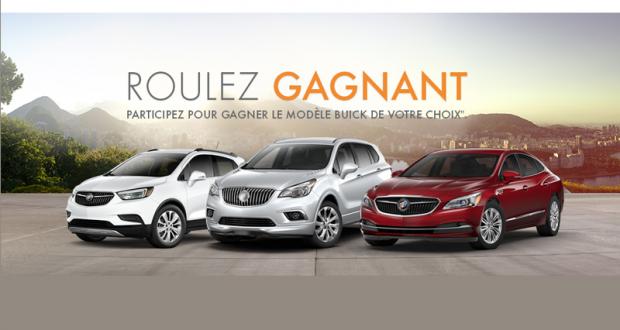 Gagnez une Voiture Buick 2018 de votre choix (47 300 $)