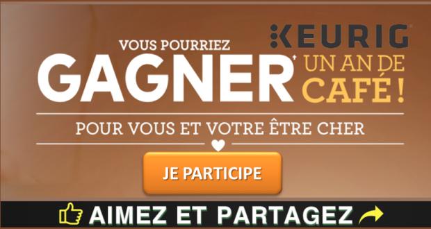 Un an de café Keurig