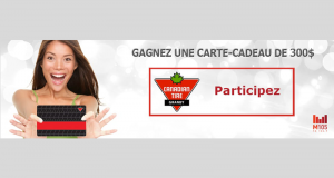 Carte-cadeau Canadian Tire de 300$