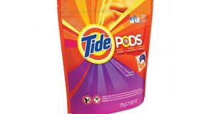 Paquet de 13 capsules Tide Pods à 99¢