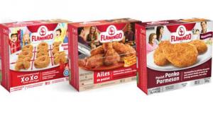 Produits du poulet pané Flamingo à 5$