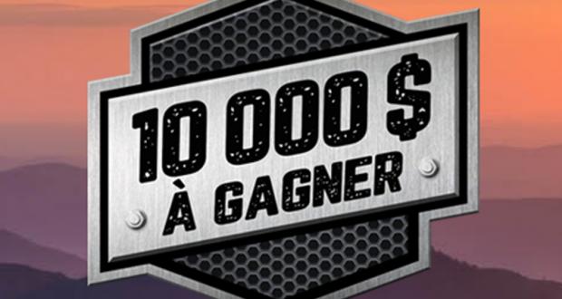 10 000 $ pour l'achat d'un véhicule de loisirs