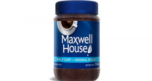 Café instantané Maxwell House à 2.22$