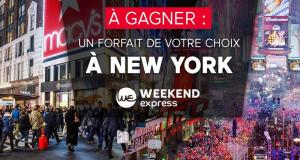Gagnez votre voyage à New York