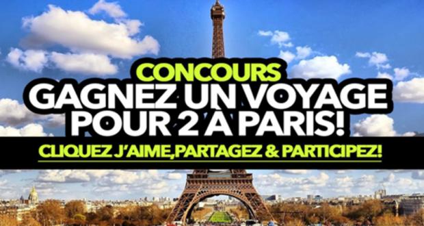 Voyage pour deux à Paris en France (Valeur de 7000$)