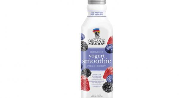 Bouteille Smoothie au yogourt organic Meadow 1L GRATUITE