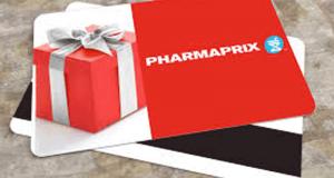 Cartes cadeaux Pharmaprix d'une valeur de 500$