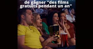 Des films gratuits pendant un an