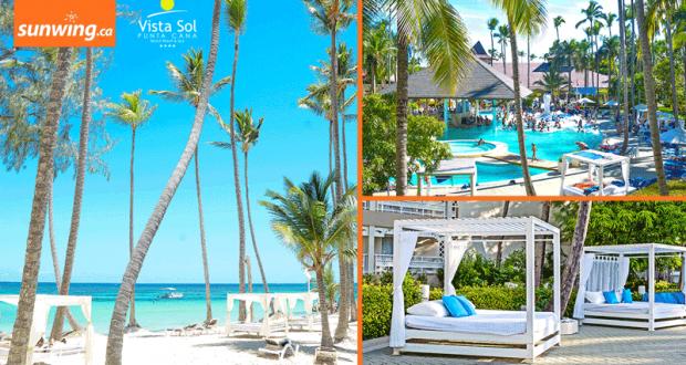 Gagnez vos vacances tout inclus au Vista Sol Punta Cana