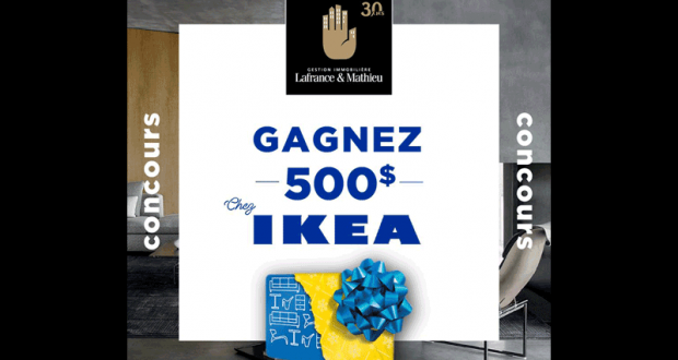 gagnez une carte cadeau de 500 chez ikea. Black Bedroom Furniture Sets. Home Design Ideas