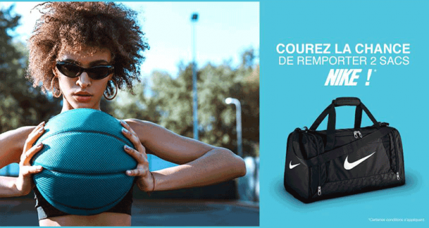 lowest price more photos innovative design Gagnez un ensemble de deux sacs de sport Nike -