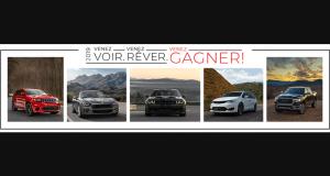 Gagnez un véhicule neuf 2019 ou 2020 (Valeur de 57 000 $)