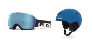Lunettes et casque de ski