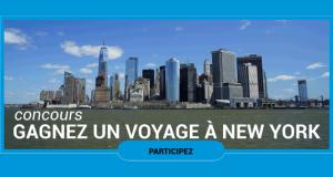 Gagnez un Voyage pour 2 personnes à New York