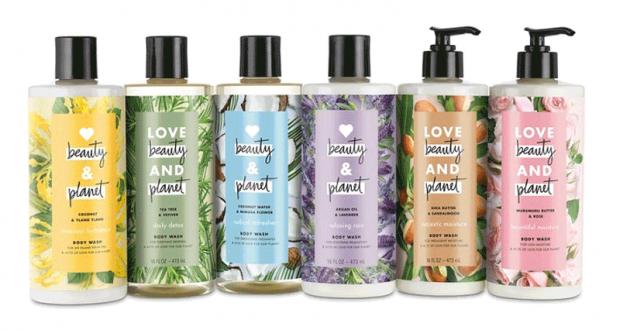 Échantillons de Shampoing et revitalisant Love Beauty and Planet
