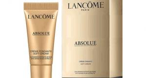 Échantillons gratuits de la Crème Fondante Absolue Lancôme