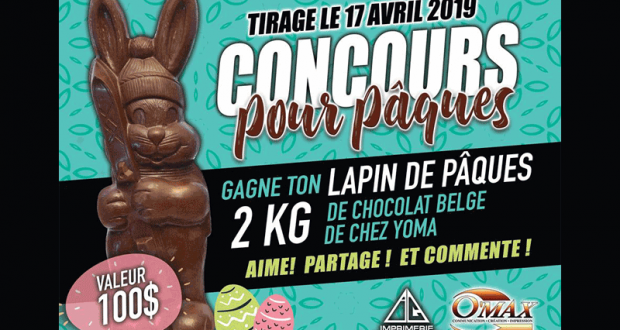 Lapin de Pâques de 2 kg de CHOCOLAT BELGE DE QUALITÉ