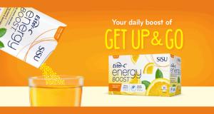 Obtenez un paquet Gratuit d'Ester-C Energy Boost