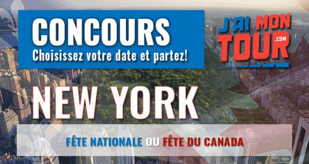 Gagnez un Voyage à New York pour 2 personnes