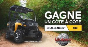 Véhicule côte à côte Challenger 400 (Valeur de 8000$)