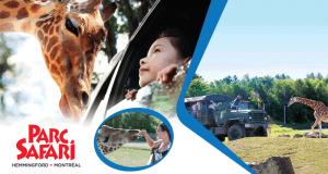 Gagne ton passeport saison pour le Parc Safari