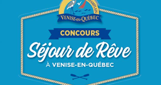 Gagnez un séjour de rêve à Venise-en-Québec