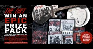 Guitare signée par Nikki Sixx et autres prix