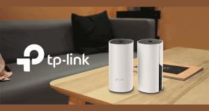 Un ensemble de 2 bornes internet Deco M4 de TP-Link