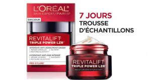 Échantillons Gratuits de la crème Revitalift Triple Power LZR