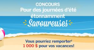 Gagnez 1 000 $ pour leurs vacances d'été